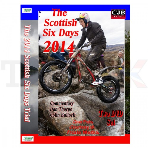 2014 Scottish Six Days Trial Review DVD