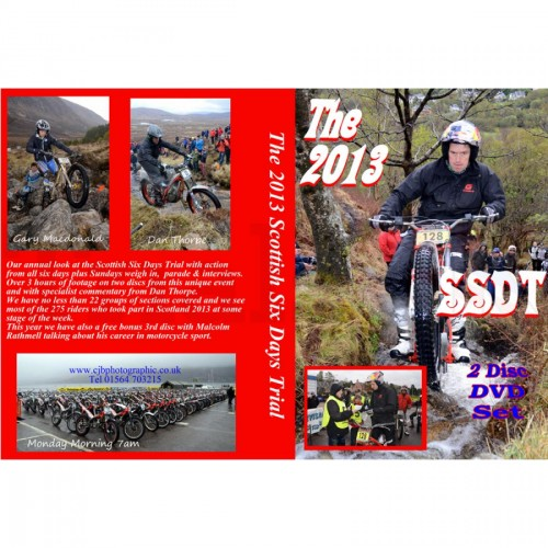 2013 Scottish Six Day Trial Review DVD