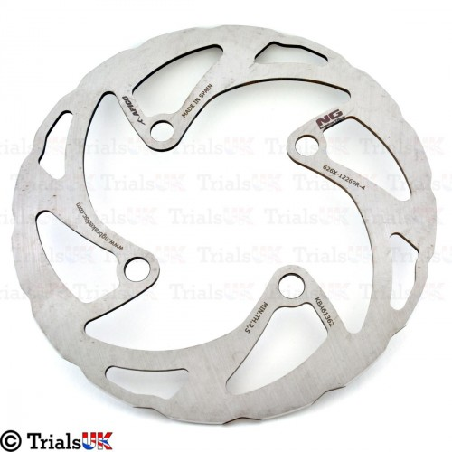 NG RACING WAVY Front Brake Disc - Beta Evo 2T/Evo 4T/Evo Senior/Rev3/Rev4