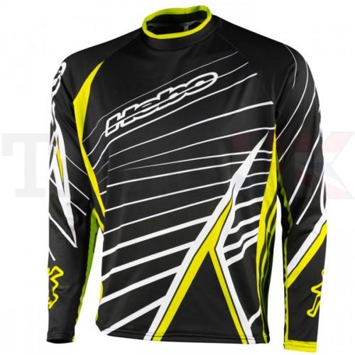 Hebo Race Pro Trials Shirt Yellow/Black