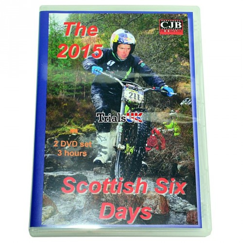 2015 Scottish Six days Review 2 disc dvd