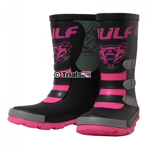 Wulf Mud Stomper Boot - Pink