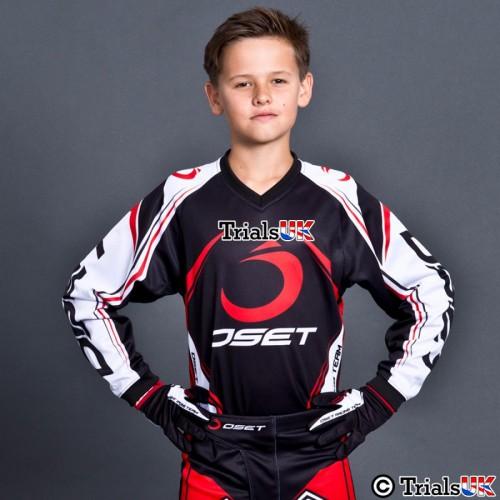 Oset Elite Junior Trials Shirt In Black