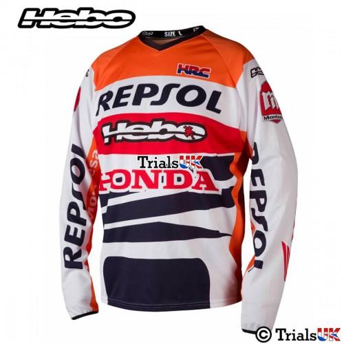 Hebo OFFICIAL Repsol Honda Montesa Team Riding Shirt