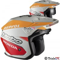 Hebo Zone 5 Montesa Team 2 Repsol Trials Helmet