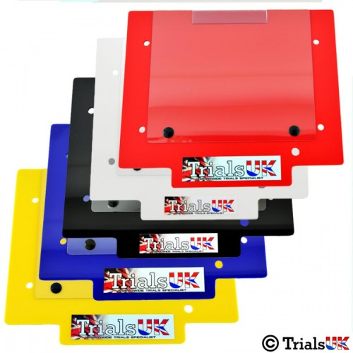 Trials UK Competition Trials Number Board - Available In 7 Colours