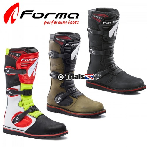 Forma Boulder Trials Riding Boots - Black or Brown
