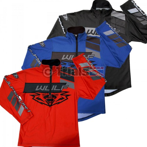 Wulf AZTEC Junior Trials Riding Shirt - Available In 3 Colourways