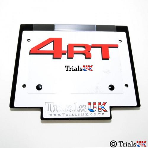 Honda/Montesa Trials UK 4RT Number Board - 3 Colourways