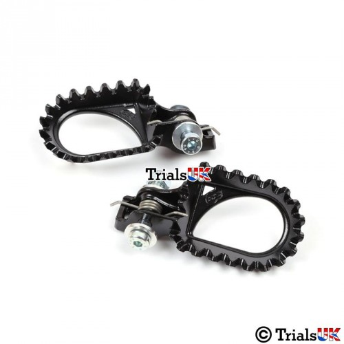 S3 Hardrock Steel Trials Footpegs - Variable Positioning
