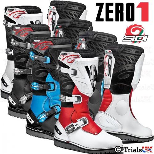 Sidi Zero.1 Trials Riding Boots - In 3 Colours