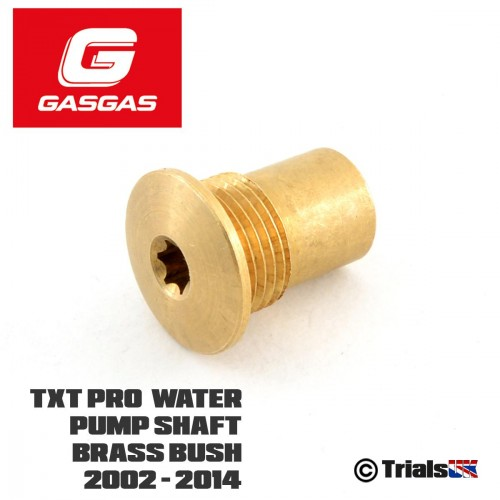 GasGas Water Pump Brass Bush - TXT Pro/Raga/Racing/Factory - 2002 - 2014