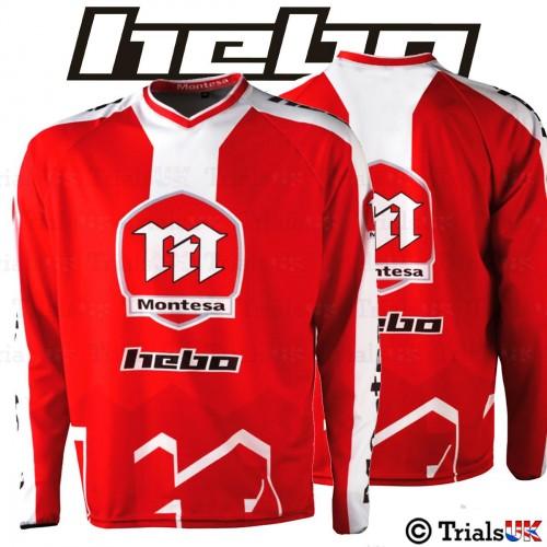 Hebo Official Montesa Classic Trials Riding Shirt