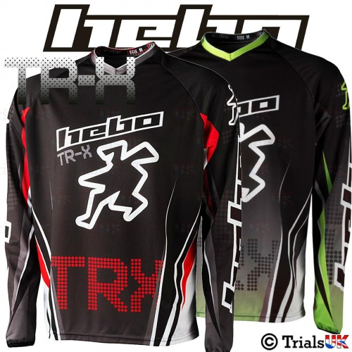 Hebo TRX Competition Trials Riding Shirt - Available In 2 Colours