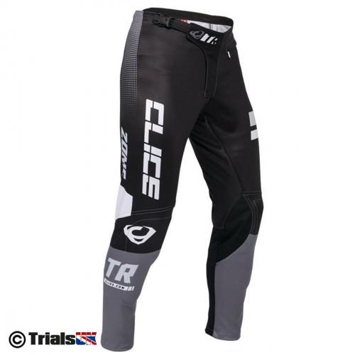 Clice Zone Trials Riding Pants - Black-Grey