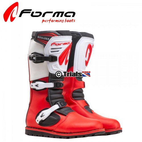 Forma Boulder Boot - Yellow/Red/Black or Yellow/Red/White