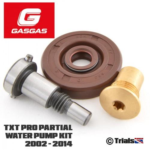 GasGas Partial Water Pump Kit - TXT Pro/Raga/Racing/Factory - 2002 - 2014