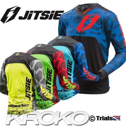 Jitsie Junior T3 KROKO Trials Riding Shirt