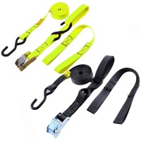 Trials UK Bike/Cargo Strap With Non Scratch Loop Over Strap - Single