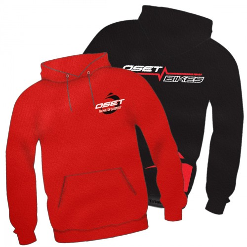 Oset Pulse Junior Official Hoody - Red or Black