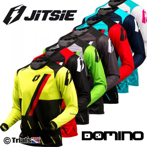 Jitsie Domino Race Fit PRO Riding Shirt - Special Low Price Offer