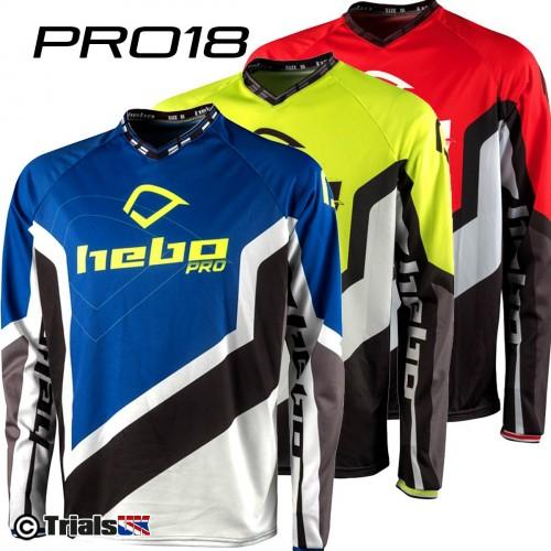 Hebo PRO18 Trials Riding Shirt - In 3 Colourways