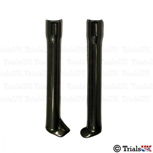 TECH Short Length Fork Protectors - TRS/Vertigo/Sherco/GasGas/Montesa - Available In 2 Colours