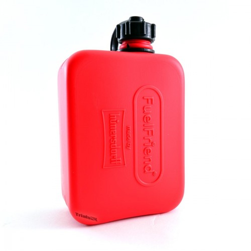 Fuel Friend Emergency Petrol/Fuel Bottle - 0.5LTR Capacity