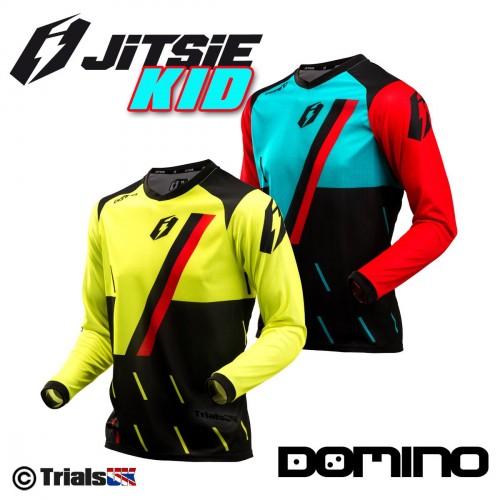 Jitsie Junior Domino Trials Riding Shirt