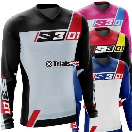 S3 RACING TEAM Trials Riding Shirt - Available In 5 Colour Ways