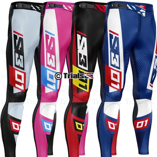 S3 RACING TEAM Trials Riding Pants - Available In 5 Colour Ways