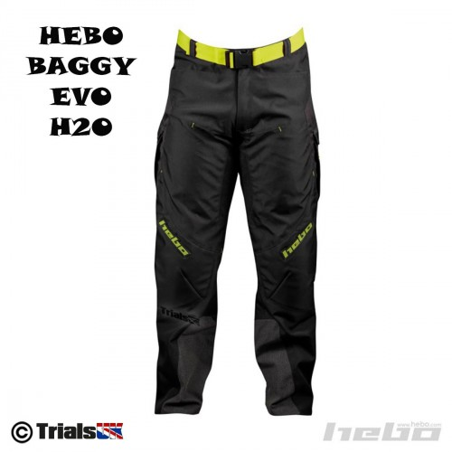 Hebo Baggy Evo H2O Water Resistant Trials Riding Pant