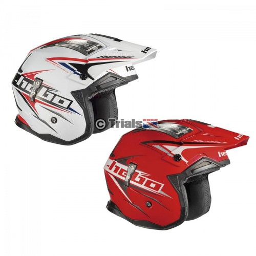 Hebo Zone 4 EXTREME 2 Trials Riding Helmet - In 2 Colourways