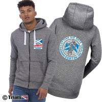 Official Scottish Six Days Trial Infinity Zipped Hoodie