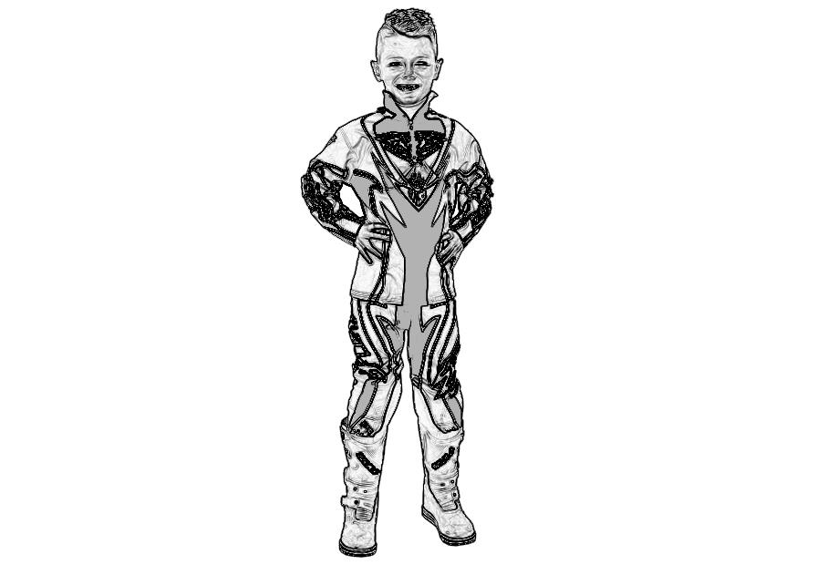 Trick Bits Short Paioli Fork Protectors - Beta/Sherco